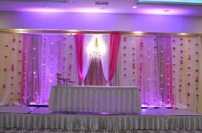 Peacocks & Paisleys Event Decor photo