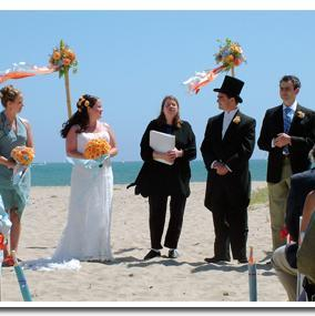 Officiant Reverend Gail Swain