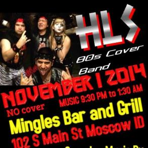 Band HLS, The Best 80s Rock Cover Band
