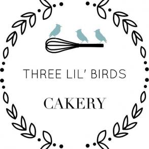 Wedding Cake Three Lil Birds Cakery