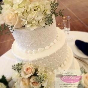 Wedding Cake Sweets by LaDawn