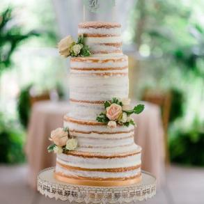 Wedding Cake Mixed with Love Cake & Cookie Co.