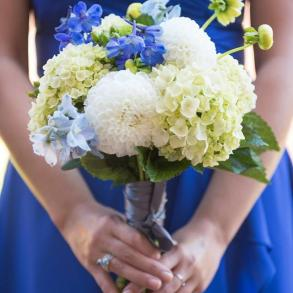 Flowers Sapphire and Lace Event Design