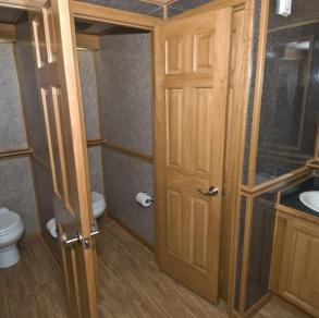 Event Rentals & Photobooths Blue Ribbon Restroom Trailers