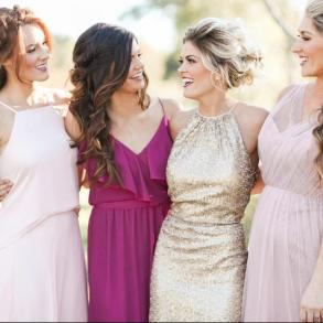 Dress & Attire Bella Bridesmaid - Houston